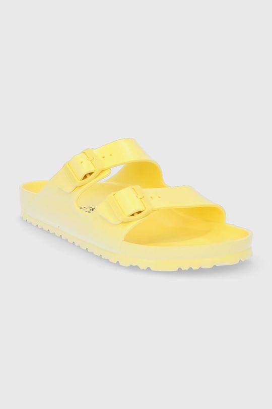 Birkenstock - Klapki Arizona żółty