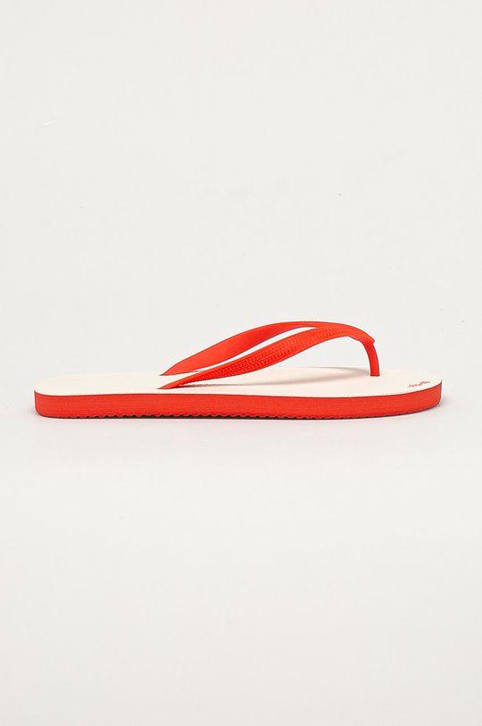 czerwony Flip*Flop - Japonki Unisex