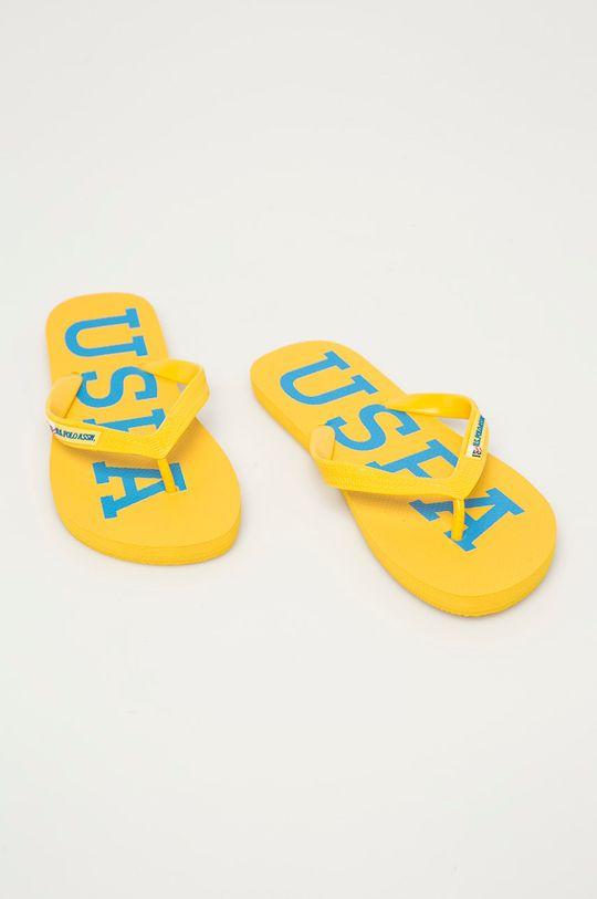 U.S. Polo Assn. - Žabky žlutá