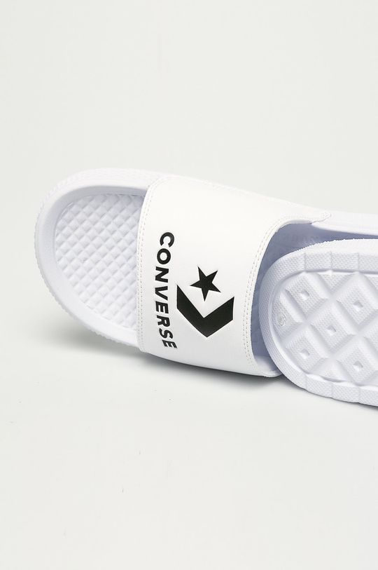 biały Converse - Klapki