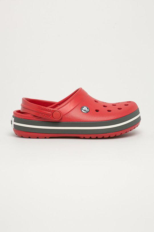 czerwony Crocs - Klapki Unisex