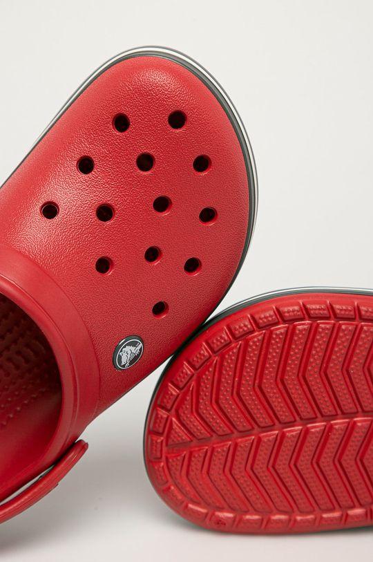 Crocs - Klapki Materiał syntetyczny