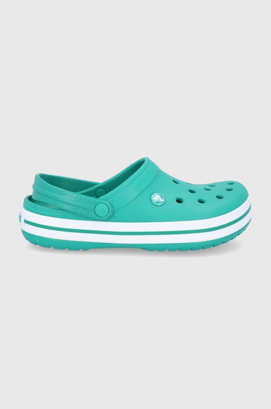 ciemny zielony Crocs - Klapki Unisex
