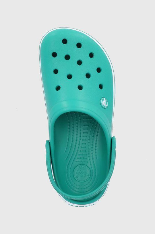 ciemny zielony Crocs - Klapki