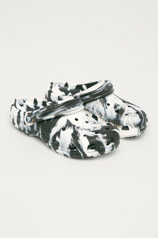 Crocs - Pantofle bílá