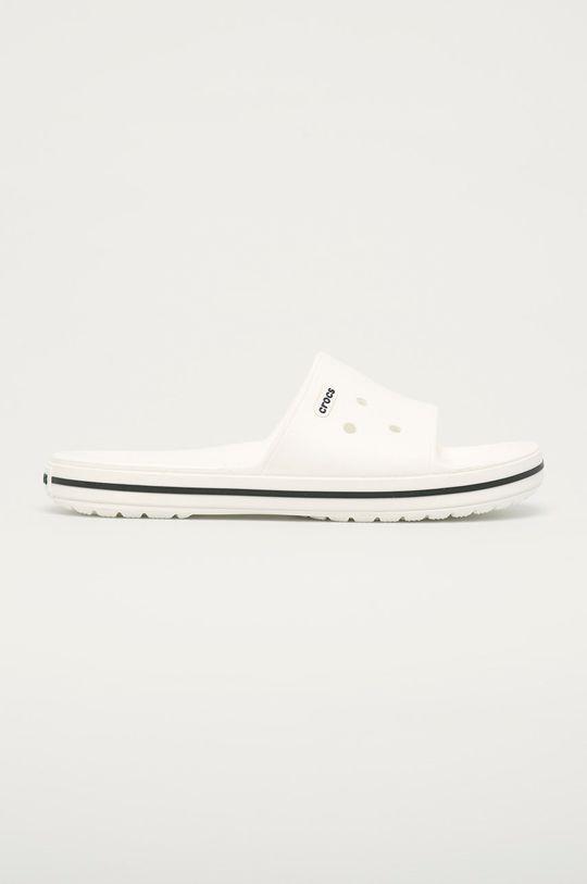 biały Crocs - Klapki Unisex