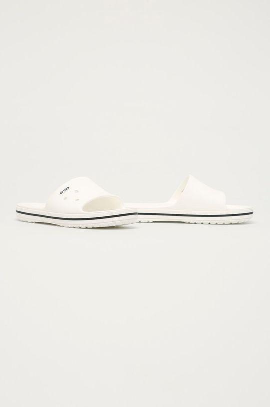 Crocs - Klapki biały