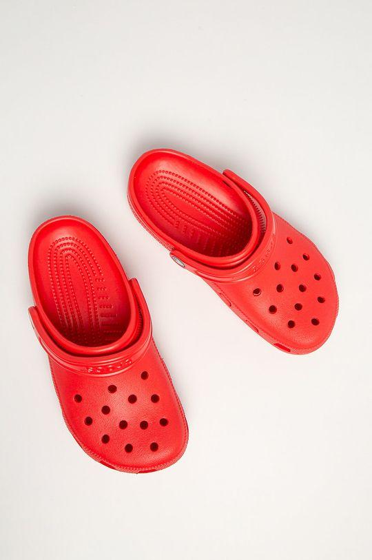 Crocs - Klapki czerwony