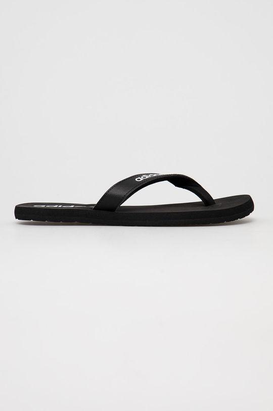 čierna adidas - Žabky Eezay Unisex