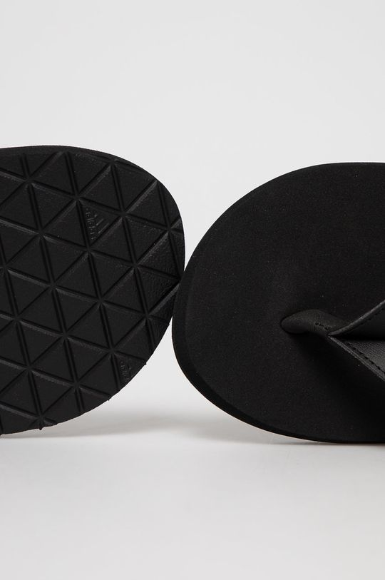čierna adidas - Žabky Eezay