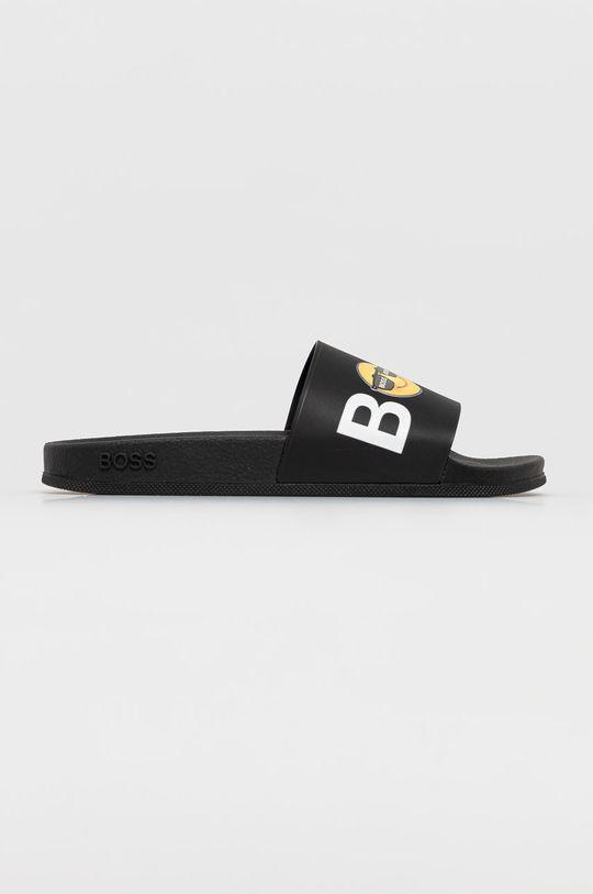 černá Boss - Pantofle Unisex