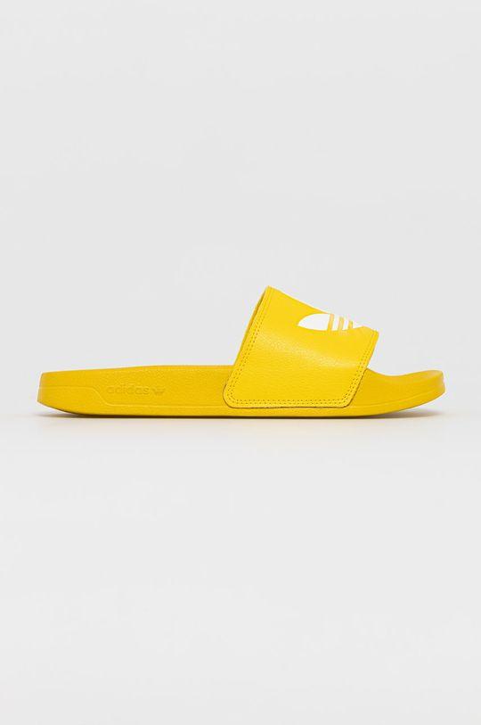 żółty adidas Originals - Klapki Adilette Lite Unisex