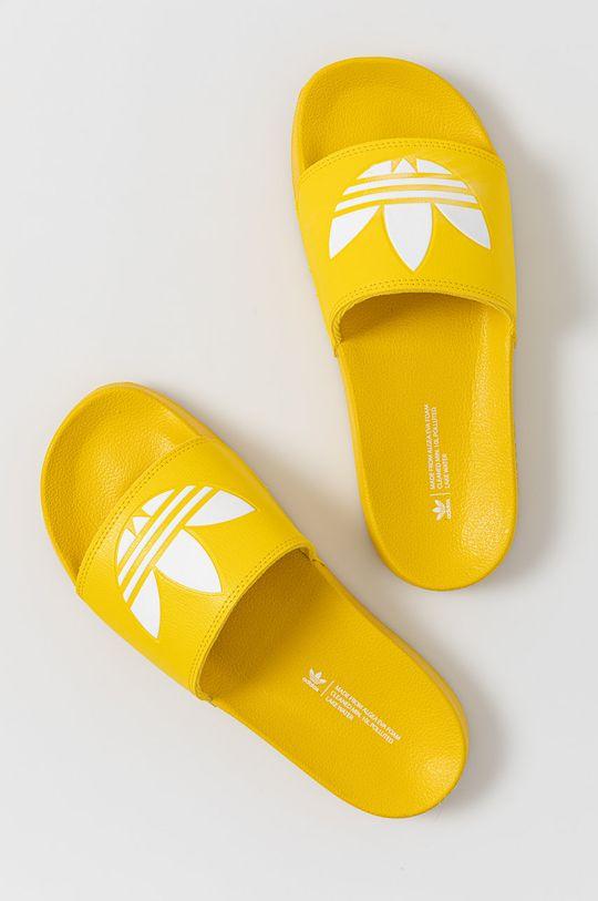 adidas Originals - Klapki Adilette Lite żółty