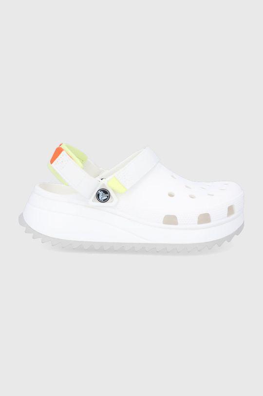 biela Crocs - Šľapky HIKER CLOG Unisex