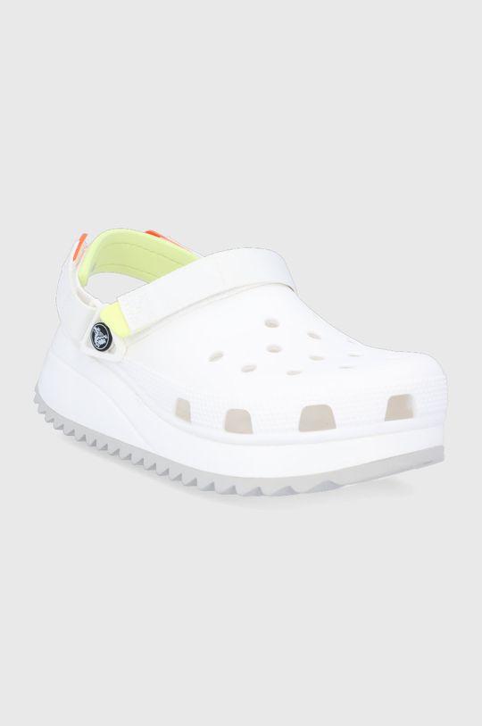 Crocs - Šľapky HIKER CLOG biela