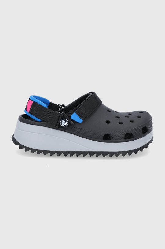 czarny Crocs - Klapki HIKER CLOG Unisex