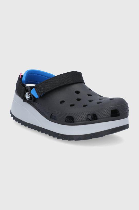 Crocs - Klapki HIKER CLOG czarny