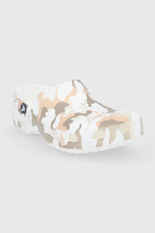 Crocs - Klapki beżowy
