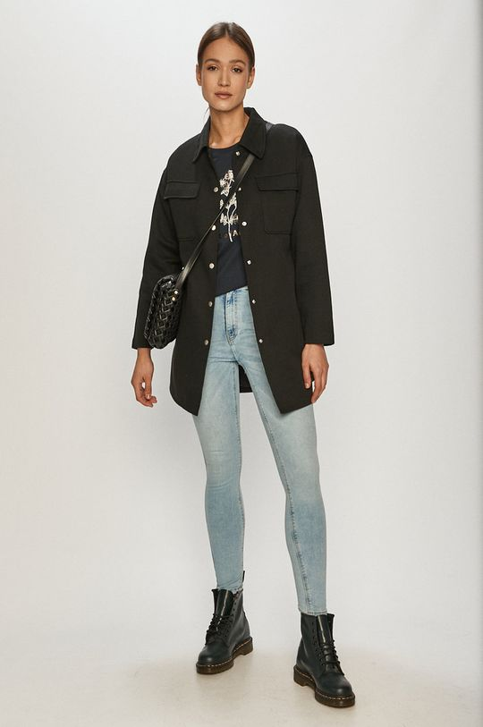 Vero Moda - Kabát černá