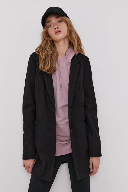 czarny Vero Moda - Płaszcz