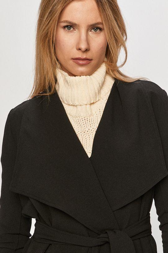 čierna Only - Kabát