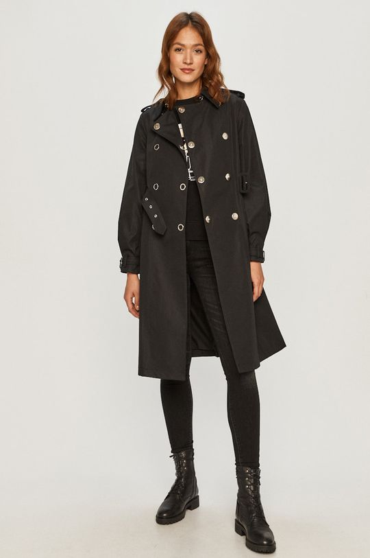 Guess - Trench kabát černá