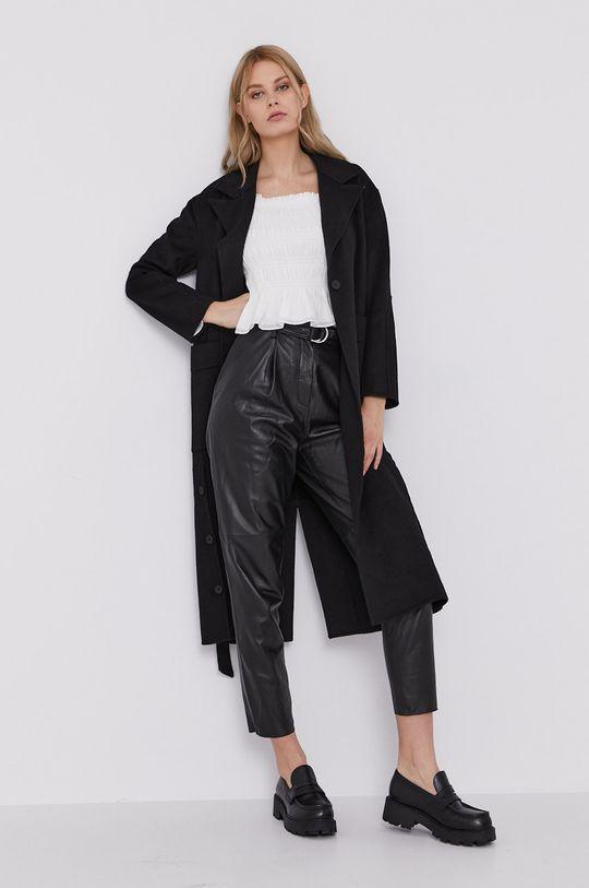 AllSaints - Płaszcz czarny