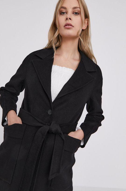 czarny AllSaints - Płaszcz