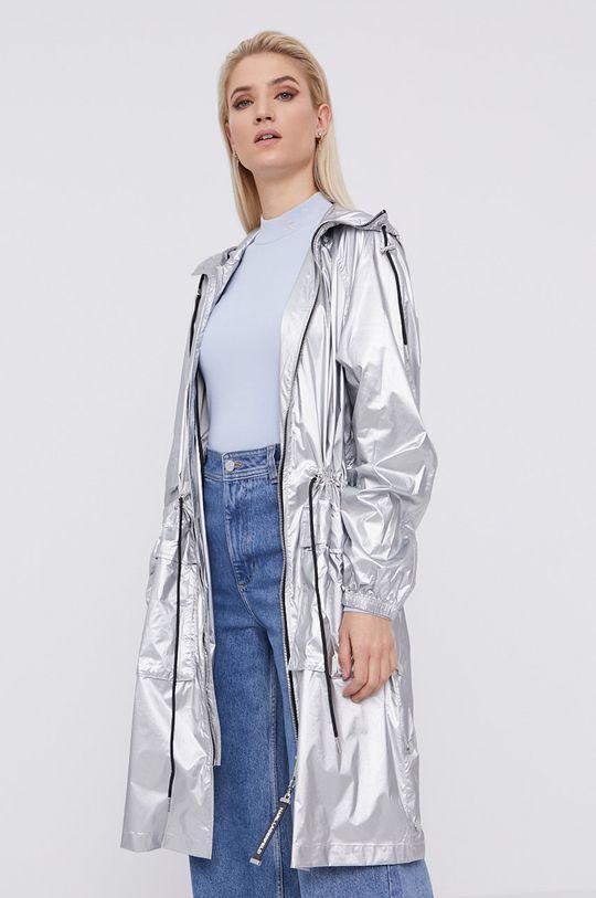Karl Lagerfeld - Parka srebrny