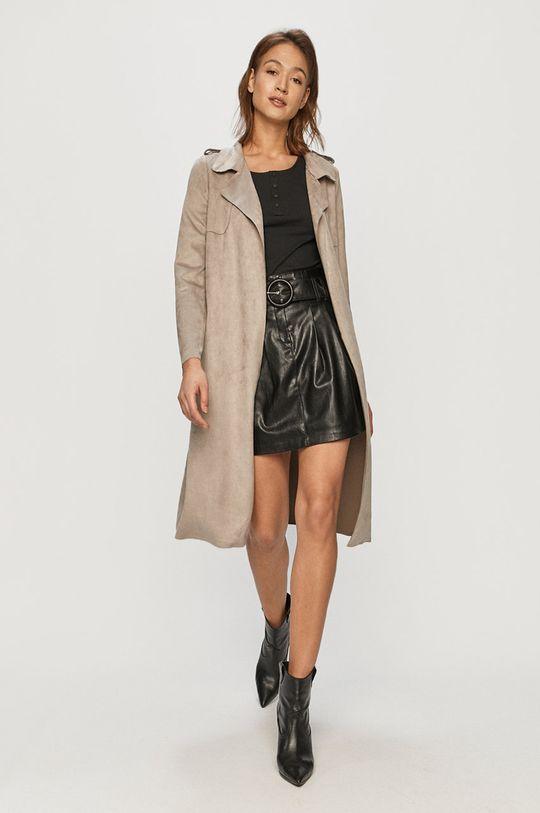 Vero Moda - Kabát sivá