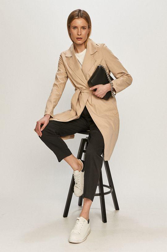Vero Moda - Kabát písková