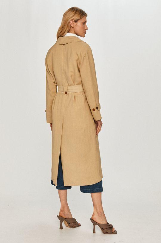 Twinset - Trench kabát  Podšívka: 68% Acetát, 32% Polyester Hlavní materiál: 32% Len, 68% Viskóza