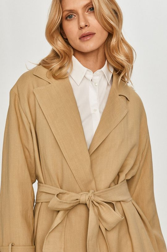 písková Twinset - Trench kabát