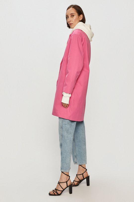 Pepe Jeans - Kabát Elvira x Dua Lipa  62% Bavlna, 38% Nylon