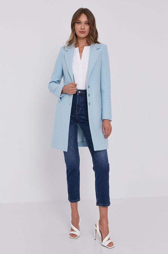 Patrizia Pepe - Płaszcz jasny niebieski