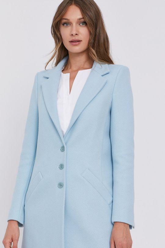 jasny niebieski Patrizia Pepe - Płaszcz