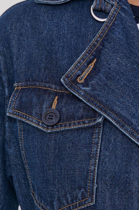 United Colors of Benetton - Płaszcz jeansowy