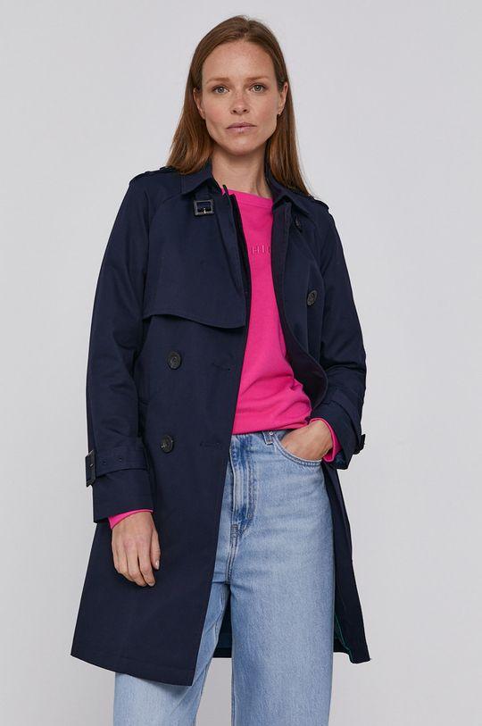 námořnická modř United Colors of Benetton - Trench kabát Dámský