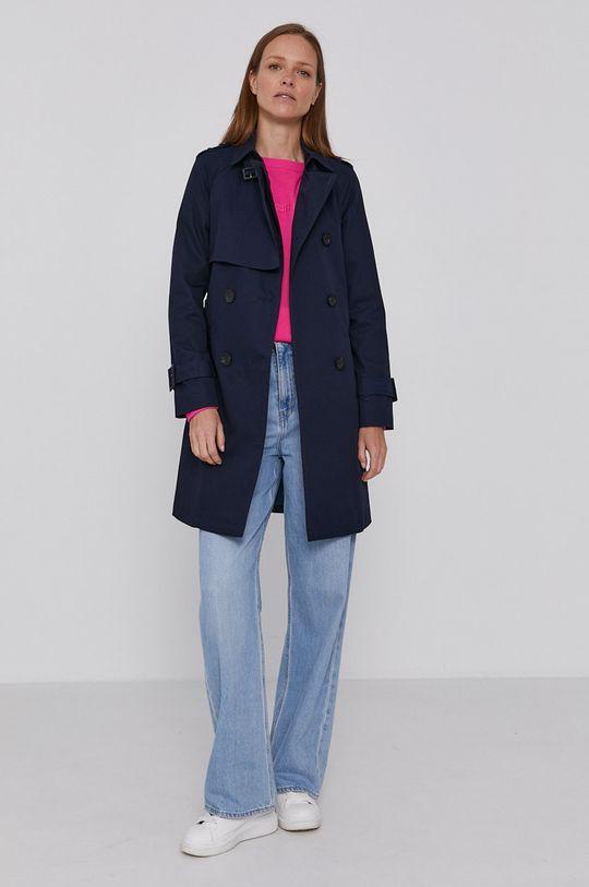 United Colors of Benetton - Trench kabát námořnická modř