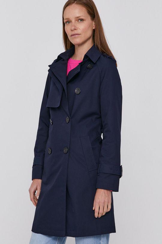 námořnická modř United Colors of Benetton - Trench kabát