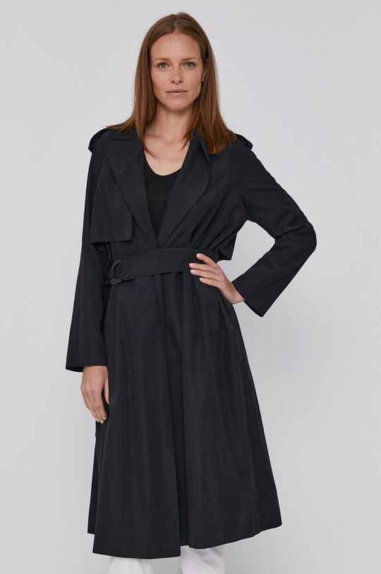 Sisley - Trench kabát černá