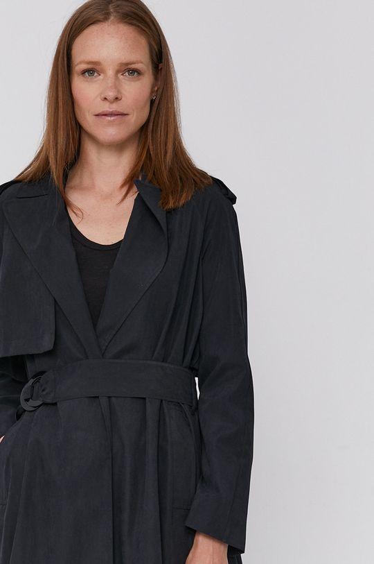 černá Sisley - Trench kabát