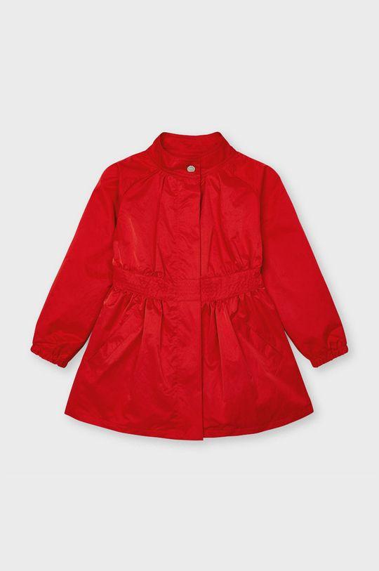 czerwony Mayoral - Płaszcz dziecięcy Dziewczęcy