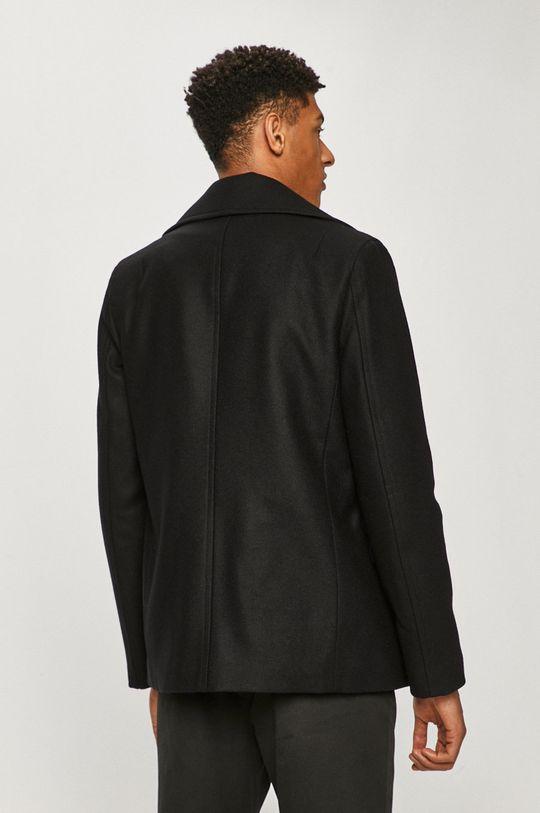 AllSaints - Kabát  Podšívka: 100% Polyester Základná látka: 28% Polyester, 72% Vlna Iné látky: 100% Prírodná koža