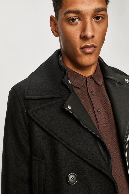 čierna AllSaints - Kabát
