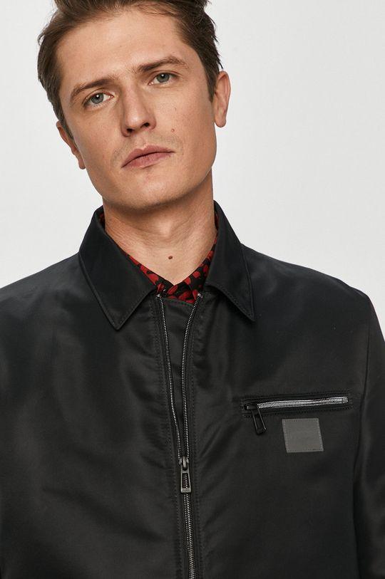 czarny Hugo - Płaszcz