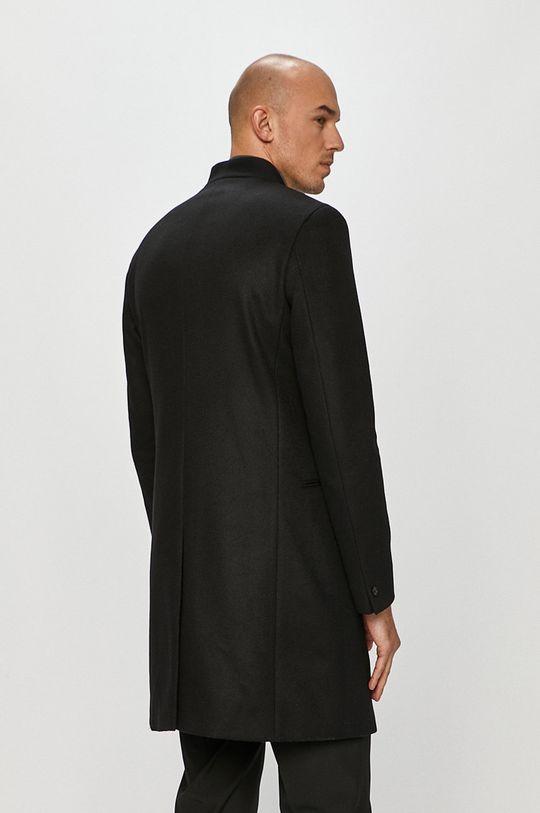 Hugo - Kabát  Podšívka: 100% Viskóza Hlavní materiál: 10% Kašmír, 20% Polyamid, 70% Virgin vlna