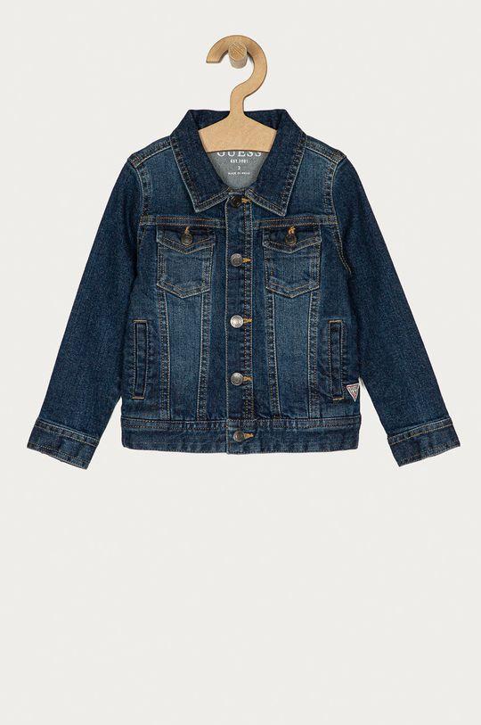 granatowy Guess - Kurtka jeansowa dziecięca 92-122 cm Chłopięcy