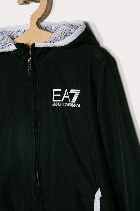 EA7 Emporio Armani - Detská bunda 104-164 cm čierna