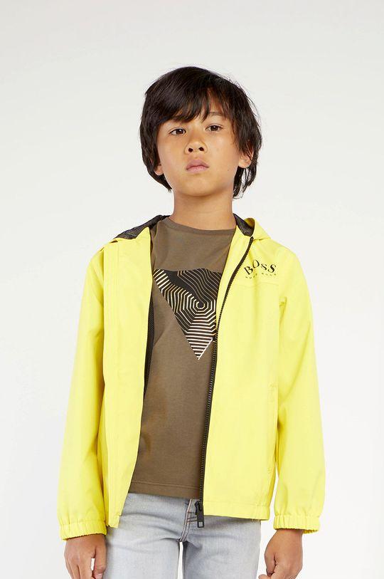 žlutá Boss - Dětská bunda Chlapecký
